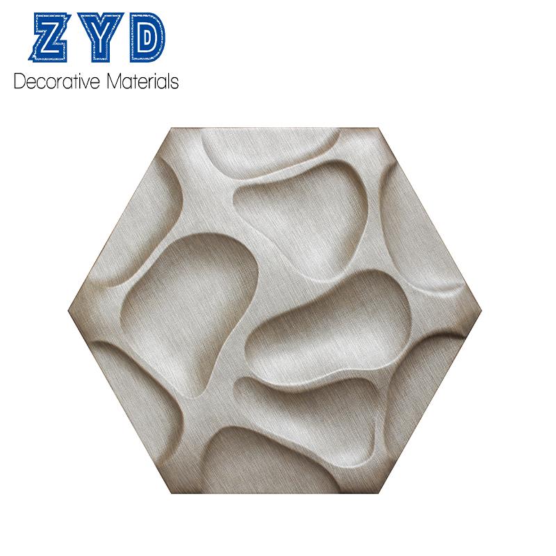 현대 벽 예술 장식 3D 벽 패널 집 인테리어