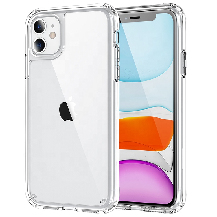 Saiboro New Product Mobile Phone <strong>Accessories</strong>, For i Phone Clear Case for iPhone 6 7 8 11 12 X XR XS XS MAX Anti-slip Cover