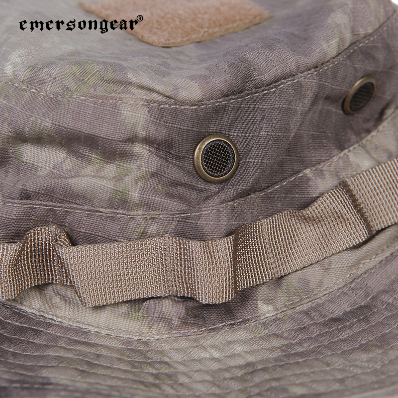 Emersongear Camouflage Cap Men Women Outdoor Airsoft Shooting Camping Fishing Boonie Hat