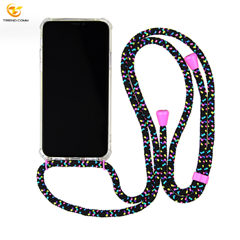 TPU+Acrylic Necklace Case Cell Phone Accessory For iPhone XS Max