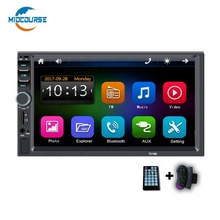 MIDCOURSE más Popular auto Radio estéreo reproductor de <span class=keywords><strong>DVD</strong></span> reproductor Multimedia con Apple enlace espejo