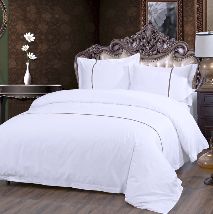 100 Pure Satin Silk Bedding Set Home King Size Bed Set