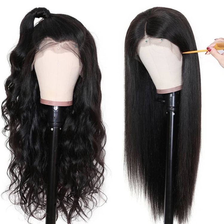 <strong>Cheap</strong> Short <strong>Human</strong> <strong>Hair</strong> <strong>Lace</strong> <strong>Front</strong> <strong>Wigs</strong> Natural Black Brazilian Long <strong>Lace</strong> Frontal Silky Straight <strong>Wig</strong> 30 Inches For Black Women