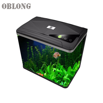 Wholesale clear glass square fish tank aquarium for home furniture S400