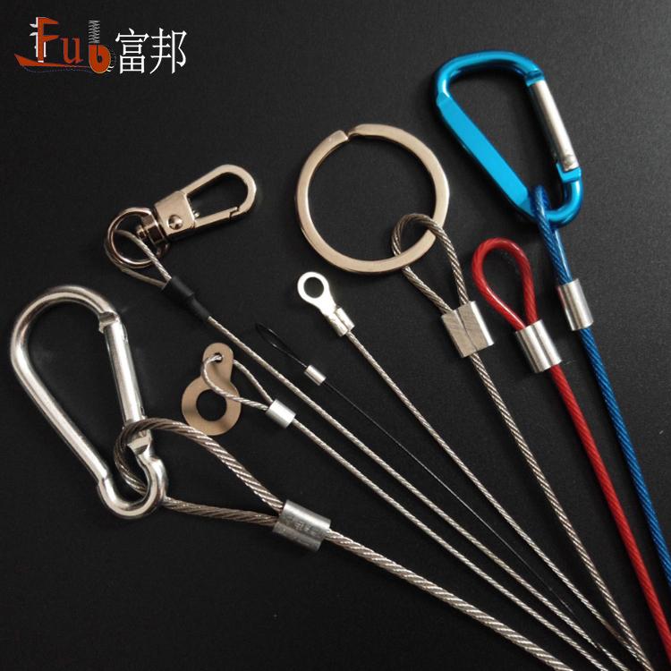 工場直接卸売鋼線ロープジョイントループワイヤーロープスリング