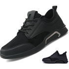 1 Pair MOQ breathable Man casual sneakers injection outdoor man sport shoes