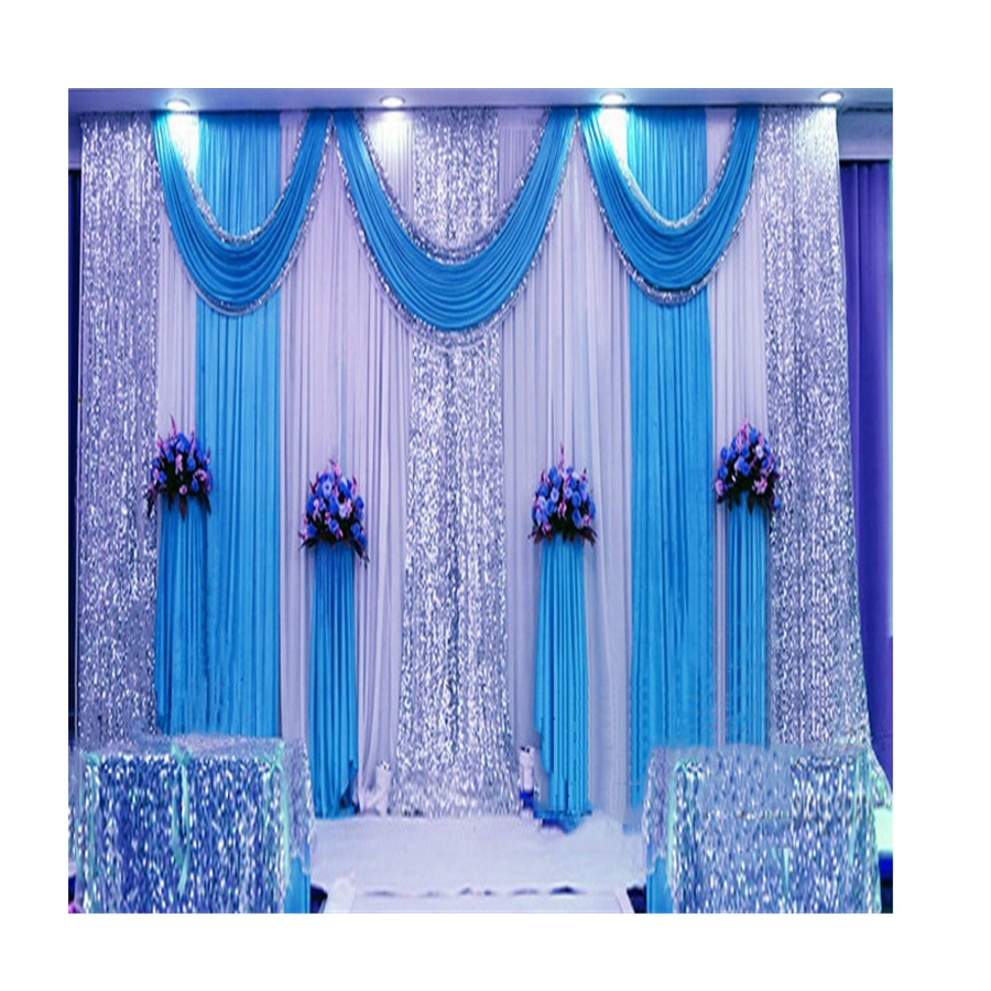 ホット販売longsunフルセットの結婚式のステージの背景の装飾