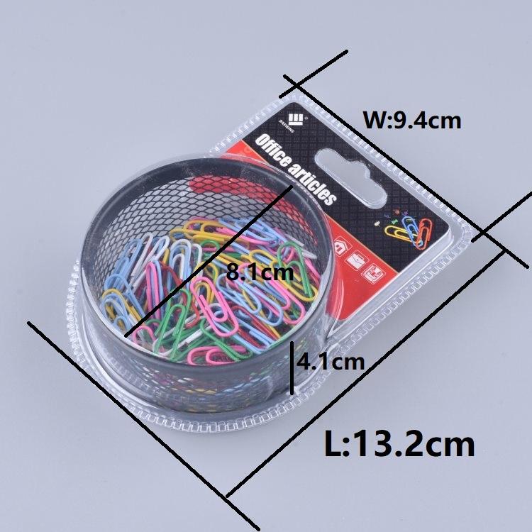Hot sale multi-function colorful 120pcs mix assorted paper clip