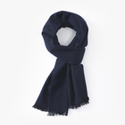 Solid color new autumn winter cashmere woman thickening warm fringed scarf wholesale