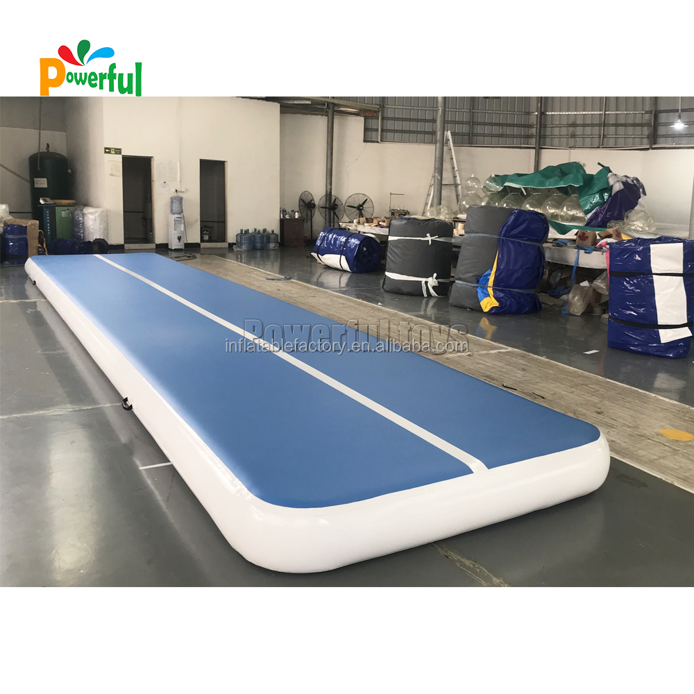 Factory price yoga landing tumble mattress inflatable gym air track