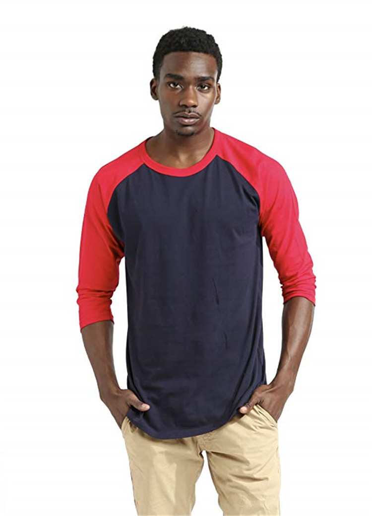 Byval OEM Mens Casual Summer Short Sleeve Round Neck Cotton/Polyester Blended Jersey T-Shirts