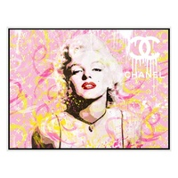 High Quality New Design Pop Wall Modern Art Abstract Canvas Marilyn Monroe Handmade Painting