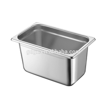 Alle Size Rvs Gastronorm pan 1/4 Gn Pan Gastronorm Container