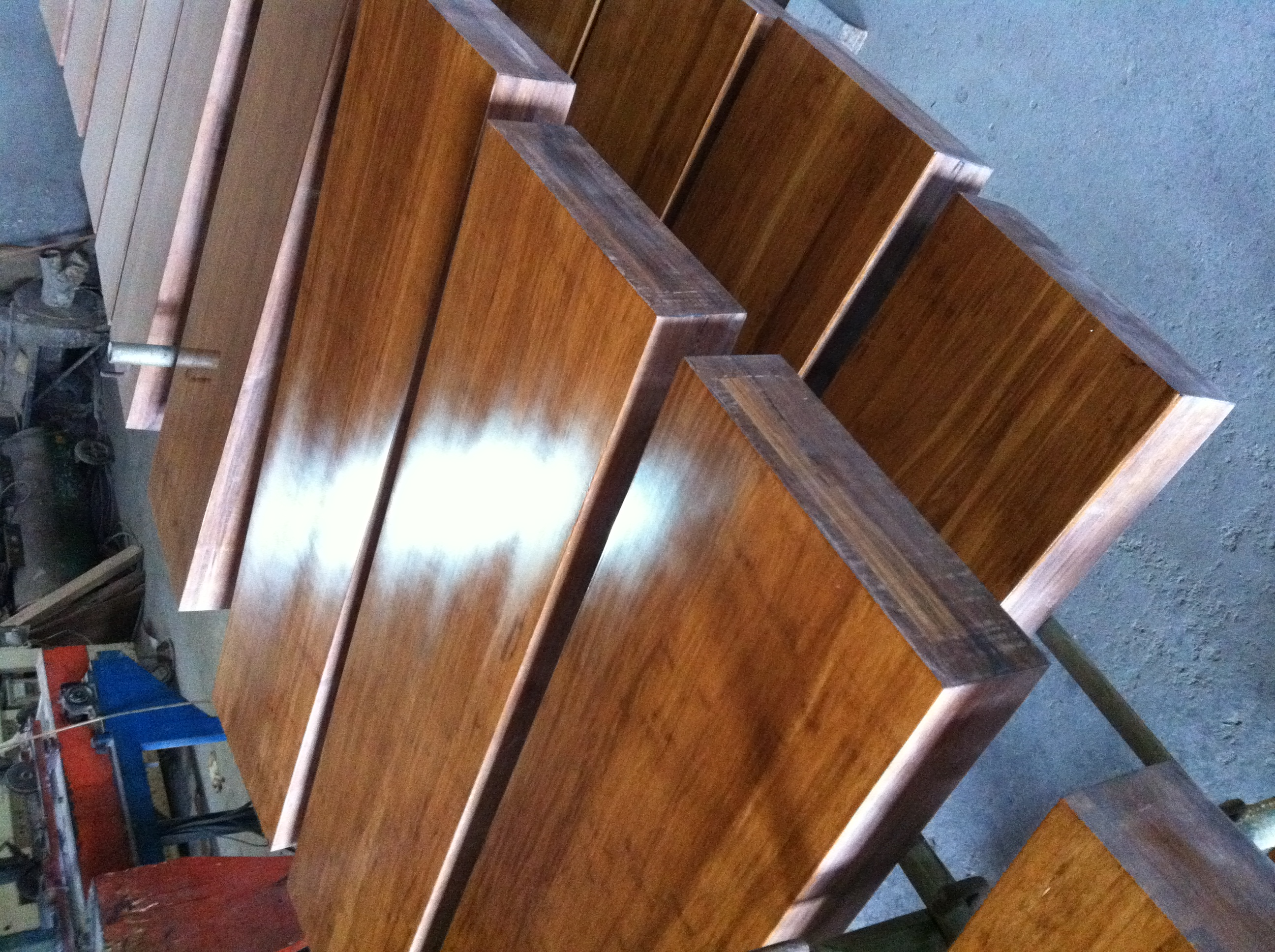 strand bamboo steeping tread stair parts