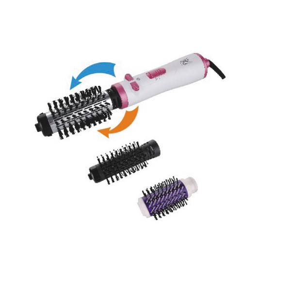 Rotating ionic hot electric hair styler