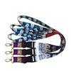custom polyester sublimation printed ribbon lanyard