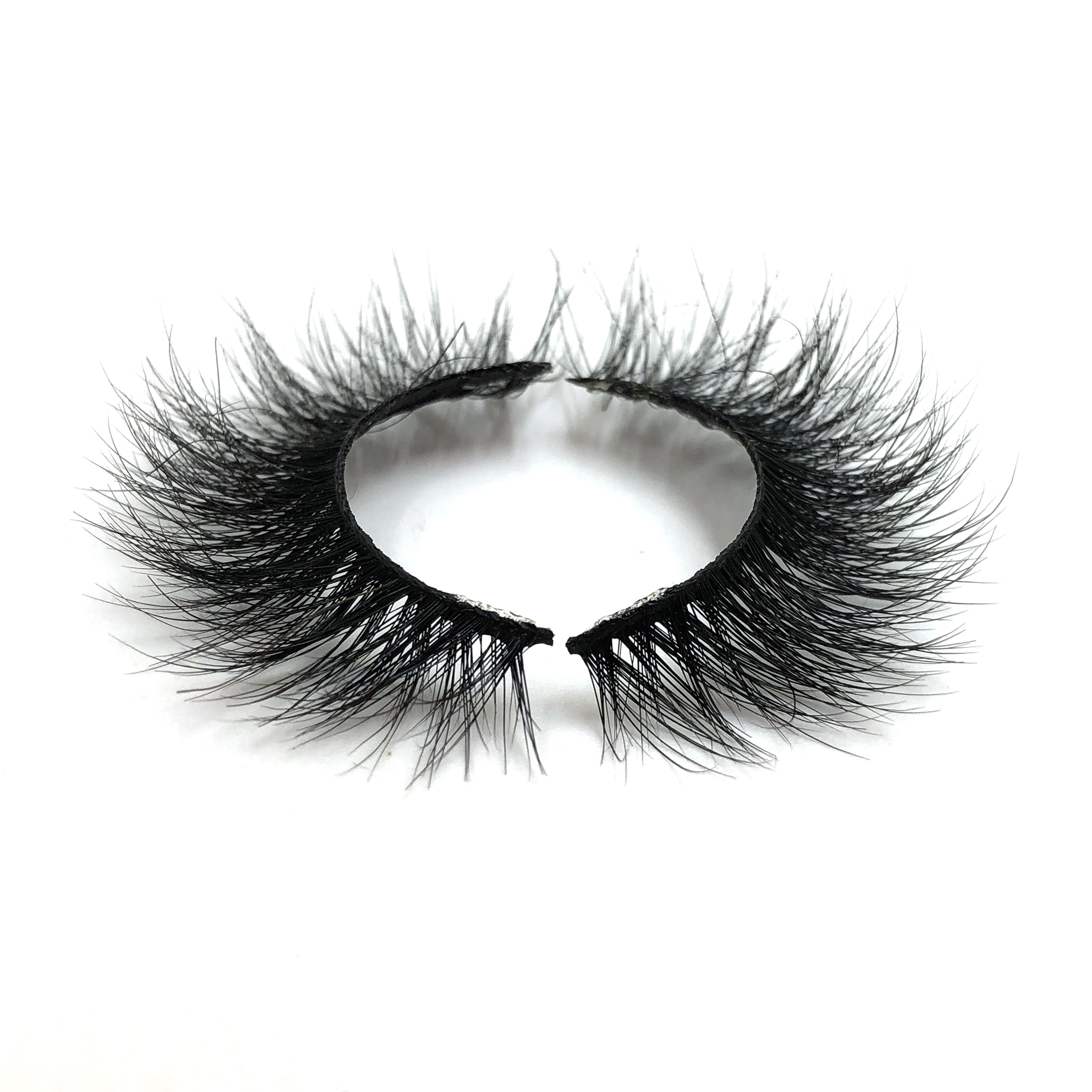 Create Your Own Brand Real 3d Mink Eyelashes Handmade False Eye Lashes Private Label Custom Packaging Box 3d Mink Lashes, Natural black