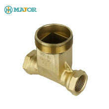 Customized check water valve brass body