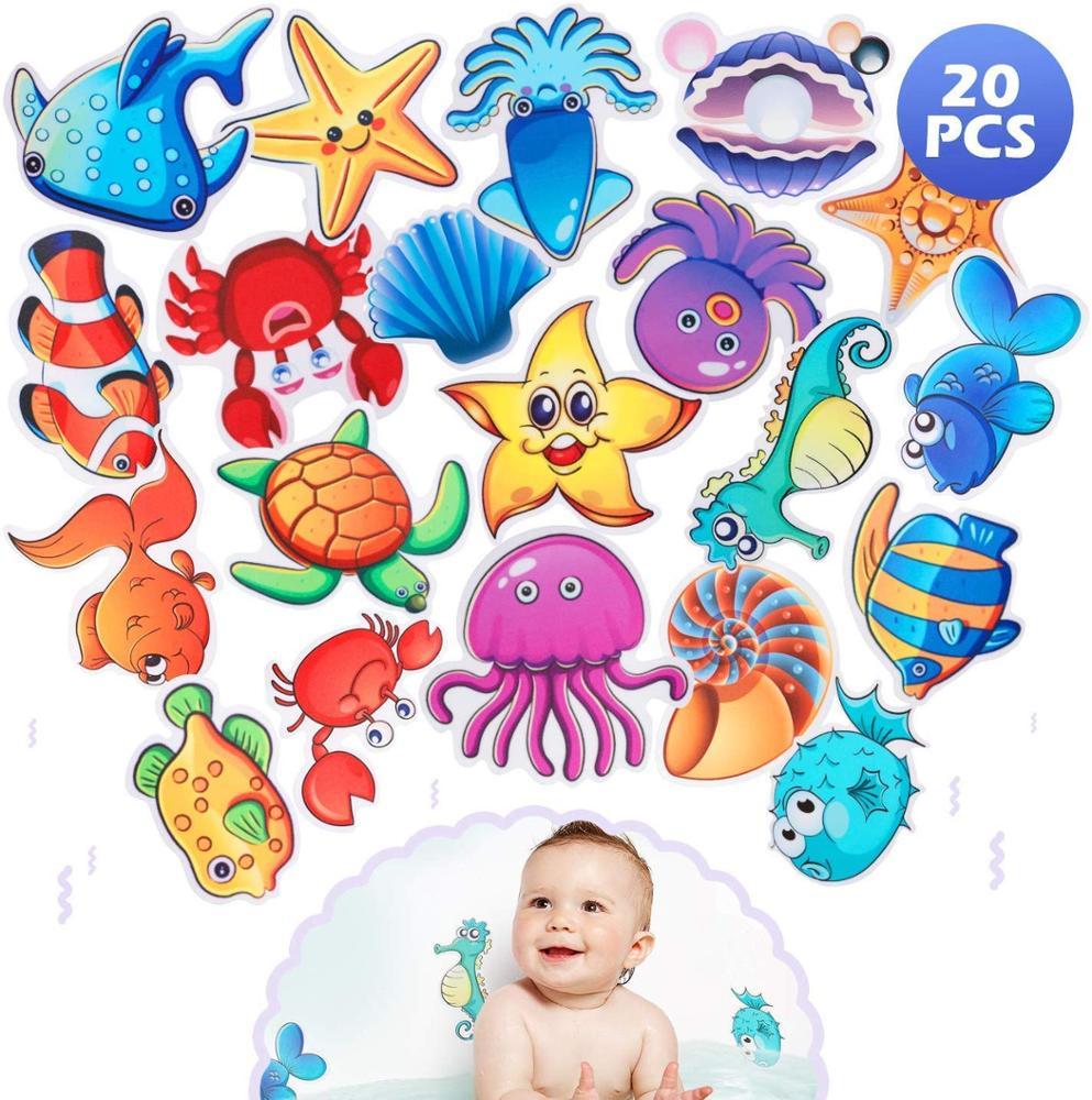 10 Adesivo Bambini Bagno con Doccia e Altre Superfici Scivolose Adesivi per Vasca Antiscivolo Grande Forma di Fiore per Sicurezza della Famiglia Misura per Vasca da Bagno Scale