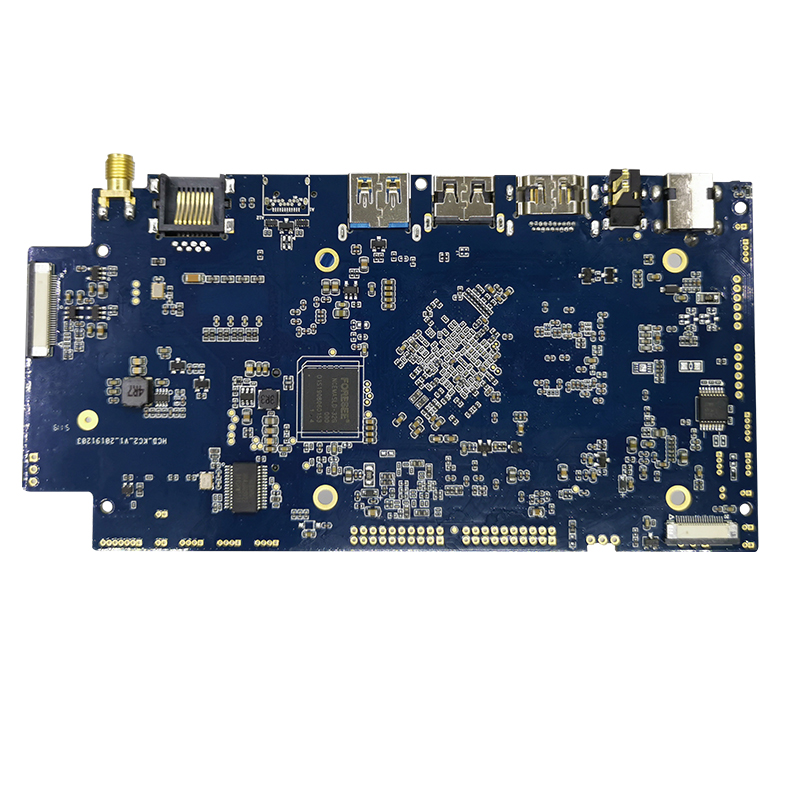 האיכות הטובה ביותר Rockchip 3399 hexa core 64bits pcba לוח האם עם כפולה edp עבור מכונת קופה