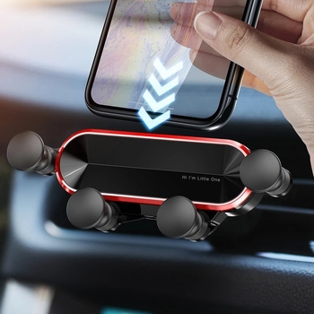 2020 New Product No Magnetic Gravity Car Phone Holder For iPhone For Xiaomi For Huawei Smartphone In Car