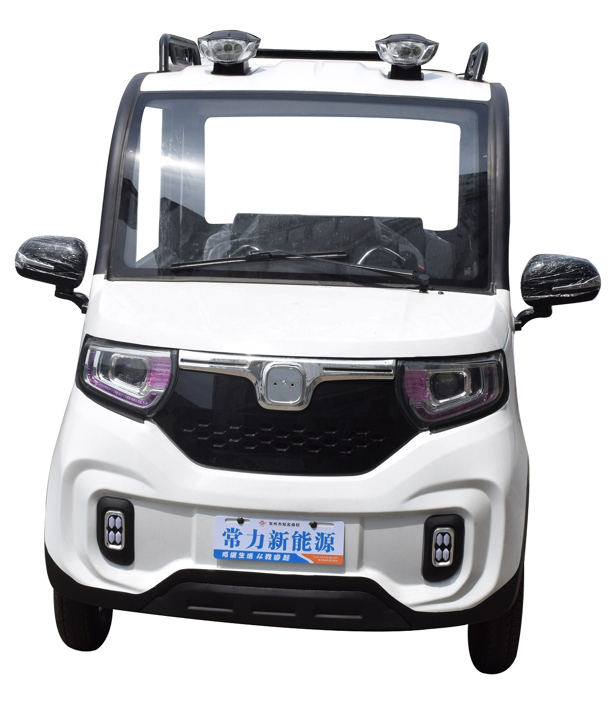 changli electric car with air conditioning Electric two-door and three-seater mobility vehicle