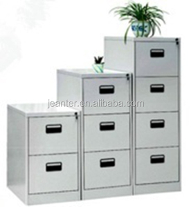 Modern Office File Storage Metal 3 Drawer Cabinet With Lock