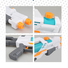 Super Water Gun Large Capacity Squirt Gun ,Shoots Up to 30 FT Two Nozzle Water Gun Toy for Summer