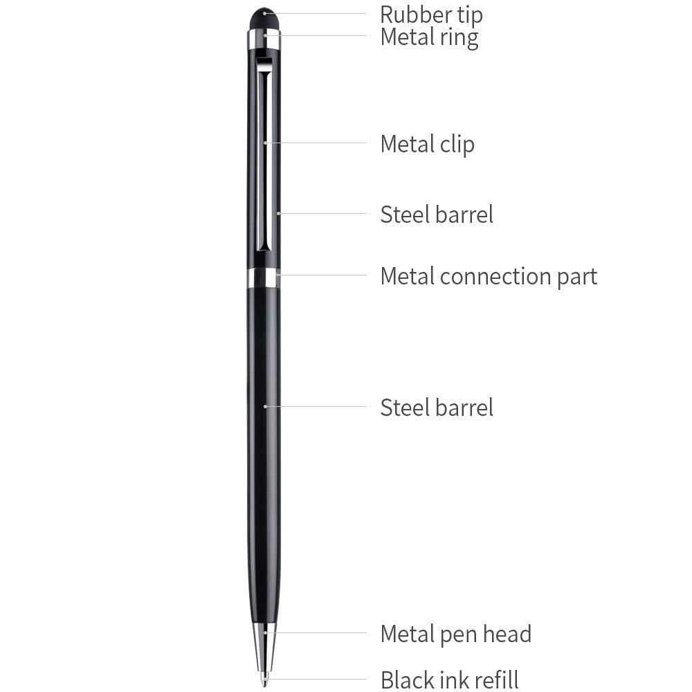 Cheap High Quality Promotional Aluminium Metal Stylus Touch Pen