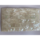 Abalone Shell Paper Shellshell HCX011 White Mother-of-pearl Abalone Shell Sheet Paper