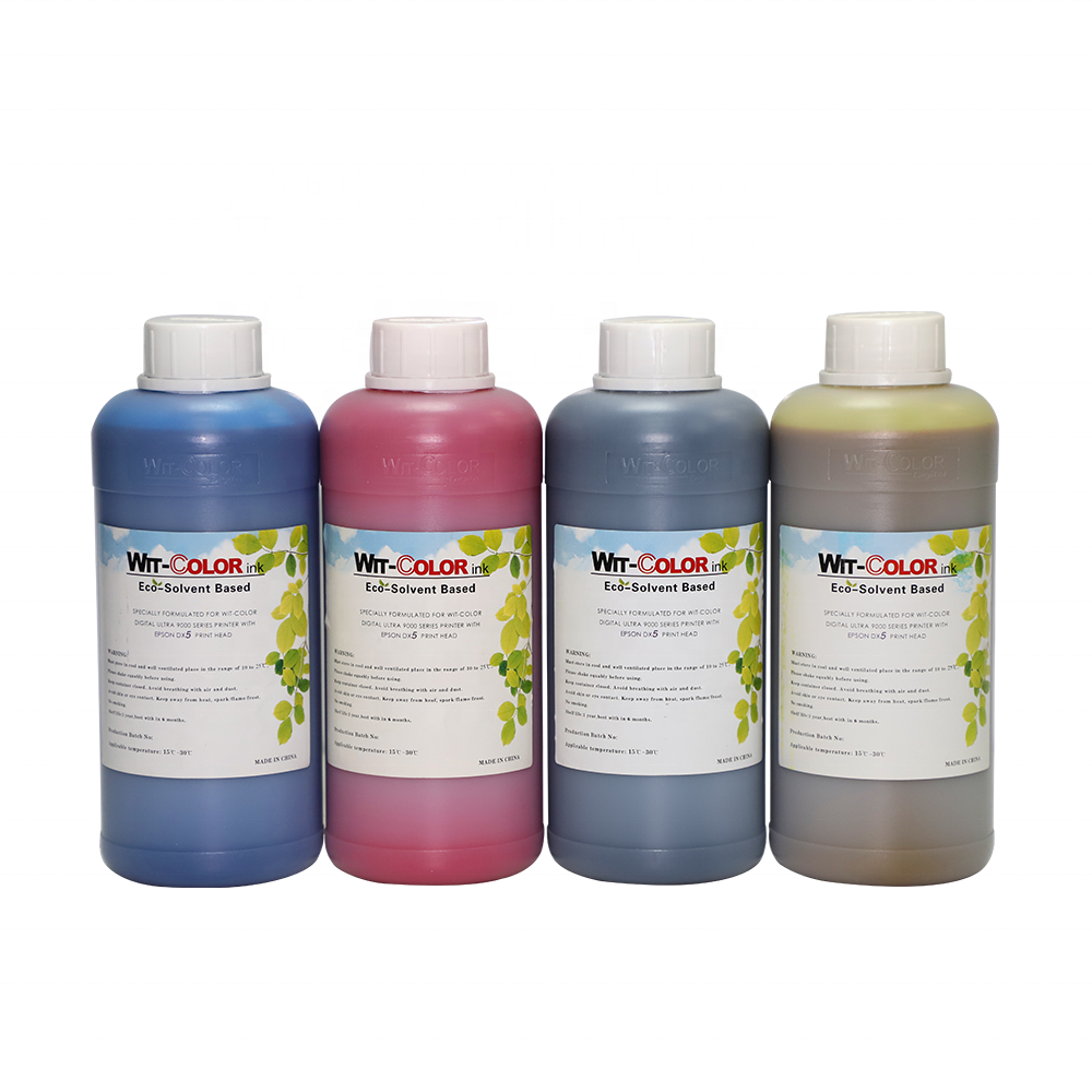 Eco solvent DX5 ink best quality durable for wit color ultra 9000