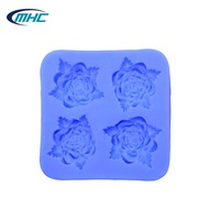 High Quality Flower Shaped Silicone Fondant Mold 3D Fondant Silicon Mold
