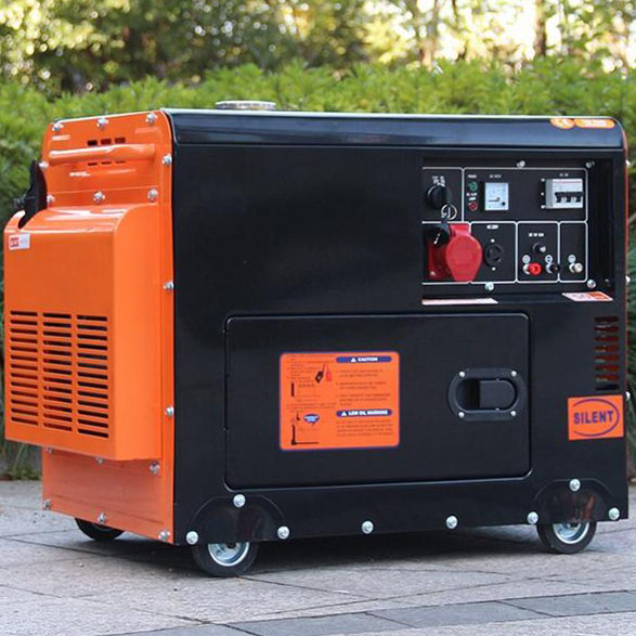 Low price 8Kva portable home silent diesel engine generator