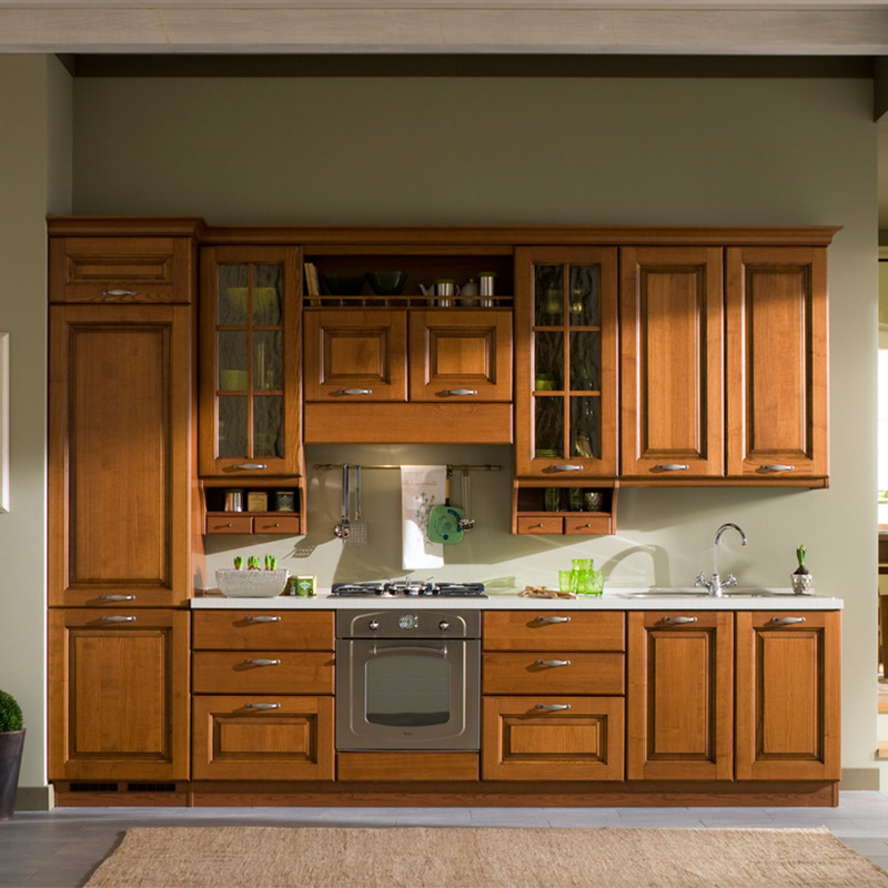 Solid Wooden Modular Kitchen Unit - Buy Mini Kitchen Units,Mini Kitchen  Cabinet,Mini Kitchen Cabinet Units Product on Alibaba.com
