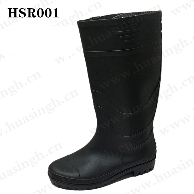 TX,Custom multiple color knee-high with steel toe durable gumboots for agricultural/industrial HSR001