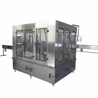 Small mineral water automatic water bottling plant cost / drink water production line / bottle filling machine manufacturers