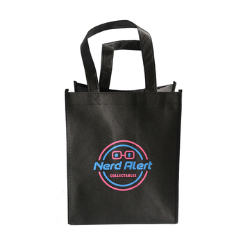 200pcs MOQ Advertising Clothing Brand Shopping Type Custom Made Non Woven Tote Bags