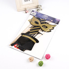 china factory produce promotional Paper Party Mask ,diy glitter party mask
