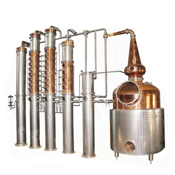 1000L gin distillation column vodka distillery equipment for sale
