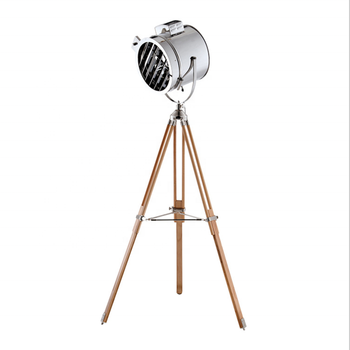 Newest Industrial Huge Nautical Spot Searchlight Vintage Lighting Style Floor Lamp