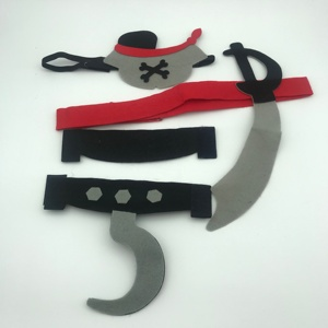 Kids party eye mask masquerade Cosplay Pirate party mask