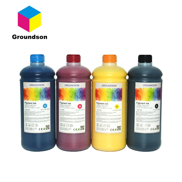 1000ml waterbasis bulk Pigment inkt voor Canon iPF750 iPF755 iPF770 grootformaat printer plotter