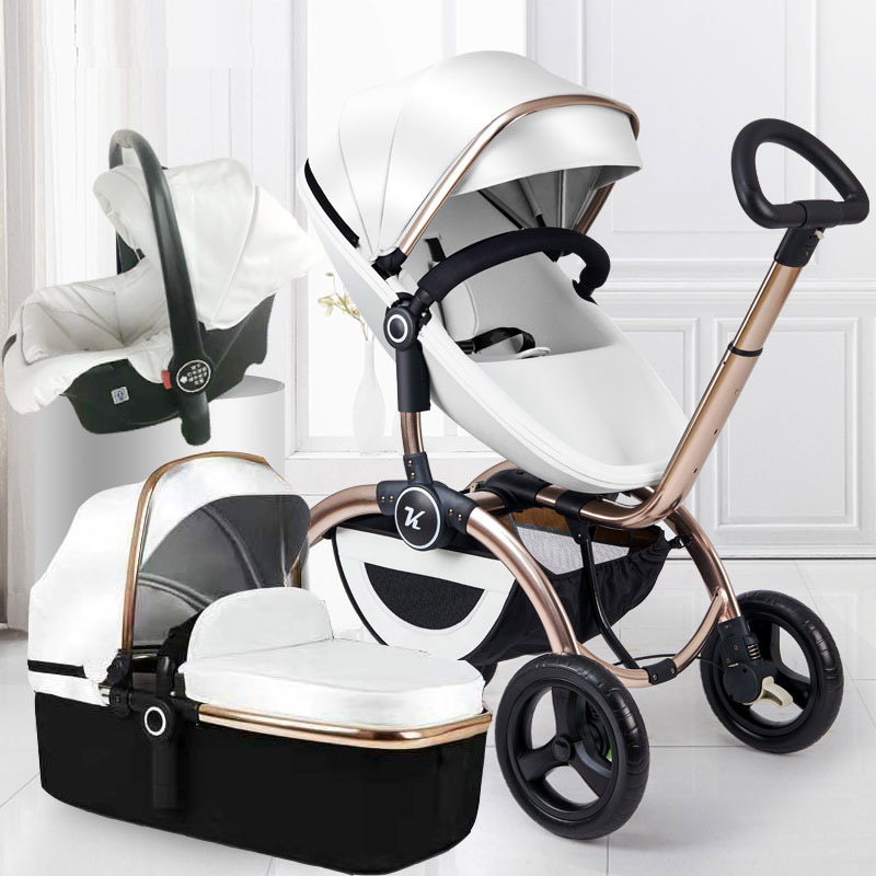 Super baby trend stroller multi-function reversible 4 in 1 baby stroller car seat