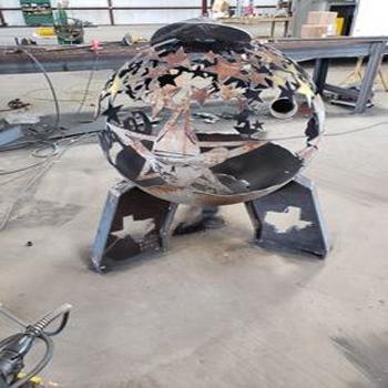 Cheap price metal covered indoor & outdoor corten steel fire pit
