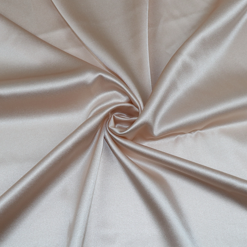 wholesale High quality   100% mulberry silk satin fabric