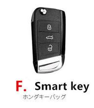 Модный автомобильный чехол-цепочка из натуральной кожи для ключей для VW Jetta Passat B8 CC Magotan Golf 7 MK7 Tiguan mk2, аксессуары для защиты ключей(Китай)