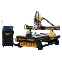 multifunctional 1325 ATC CNC router with rotary device for wood company