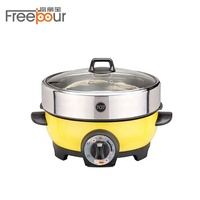 Quality primacy electric thermo pot travel electric hot pot cooker