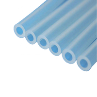 food grade clear FDA silicone tube for baby water milk drinking straw