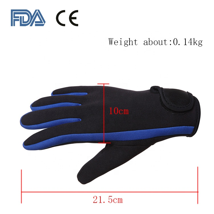 3mm new hot surf diving warm non-slip gloves